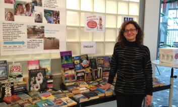 Carolina Nogueiro-Loddo organised a bookfair